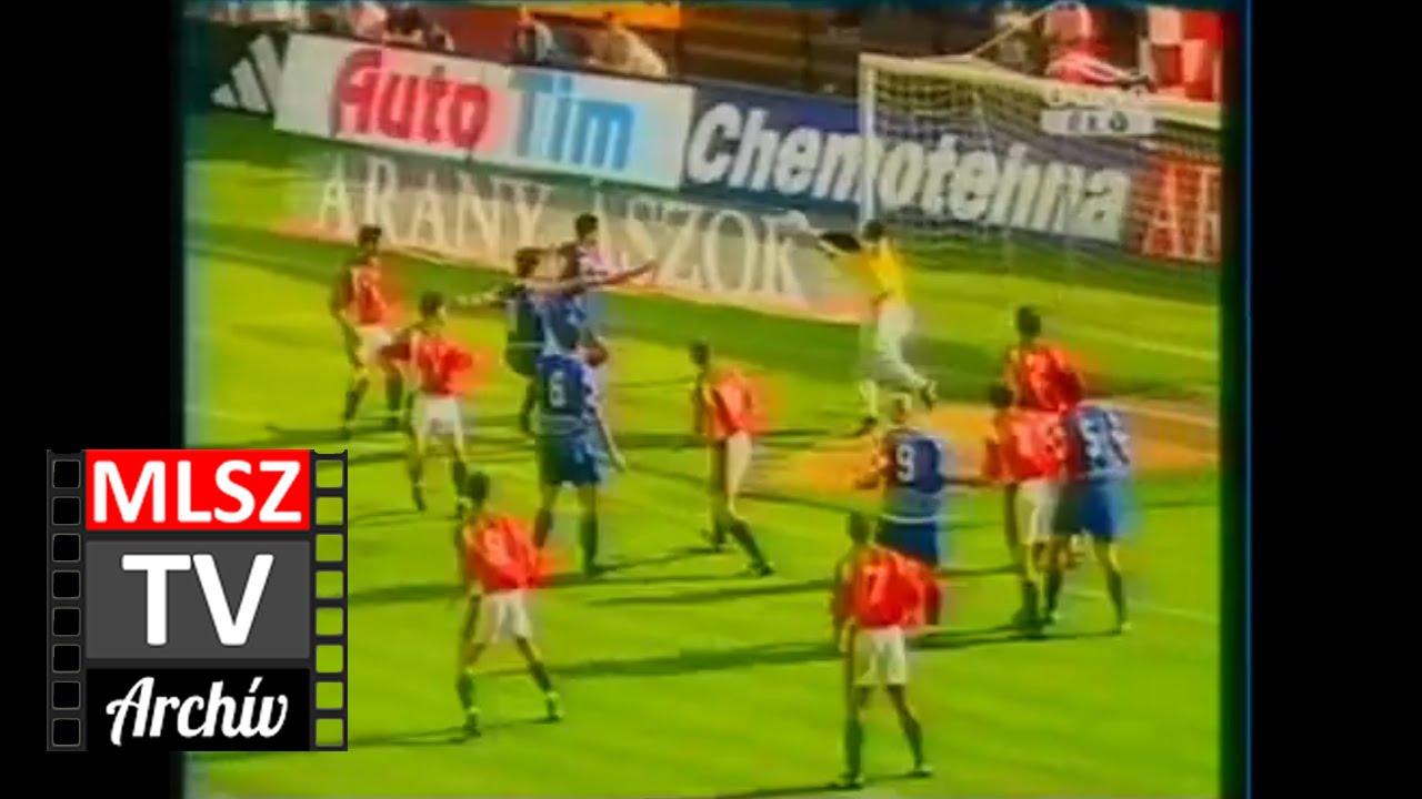 Magyarország-Horvátország | 0-2 | 2002. 05. 08 | MLSZ TV Archív