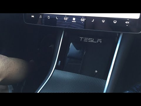 Wireless Charging on the Tesla Model 3