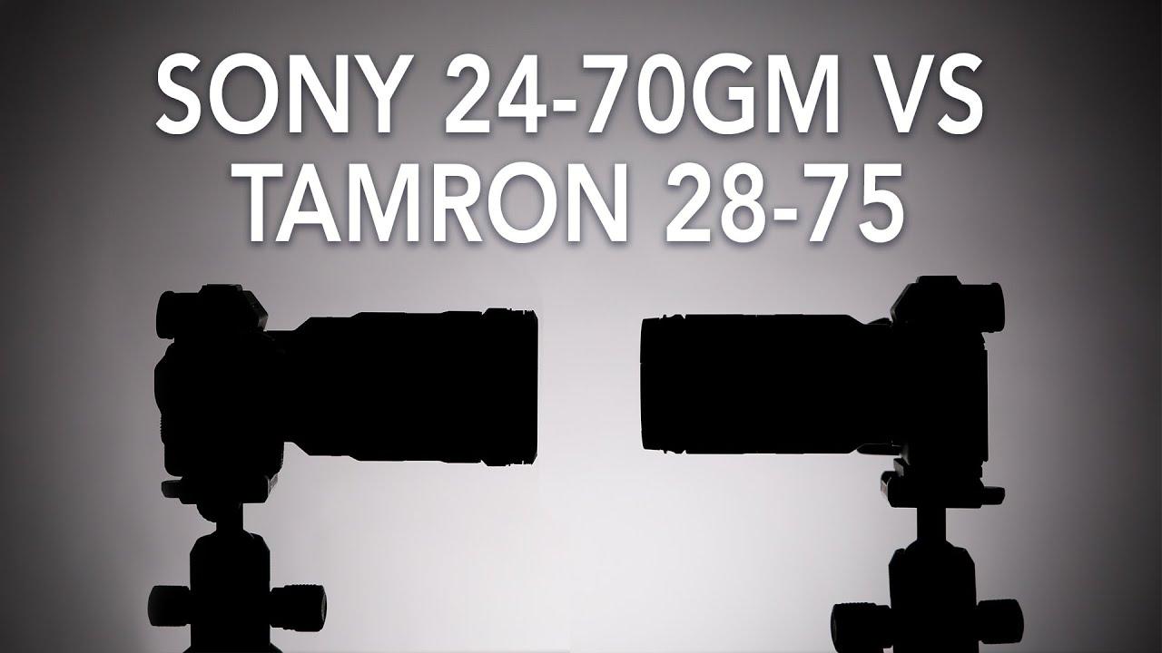 Sony 24-70 f2.8 GM vs Tamron 28-75 f2.8 Lens Comparison