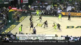Baylor at West Virginia | 2015-16 Big 12 Men