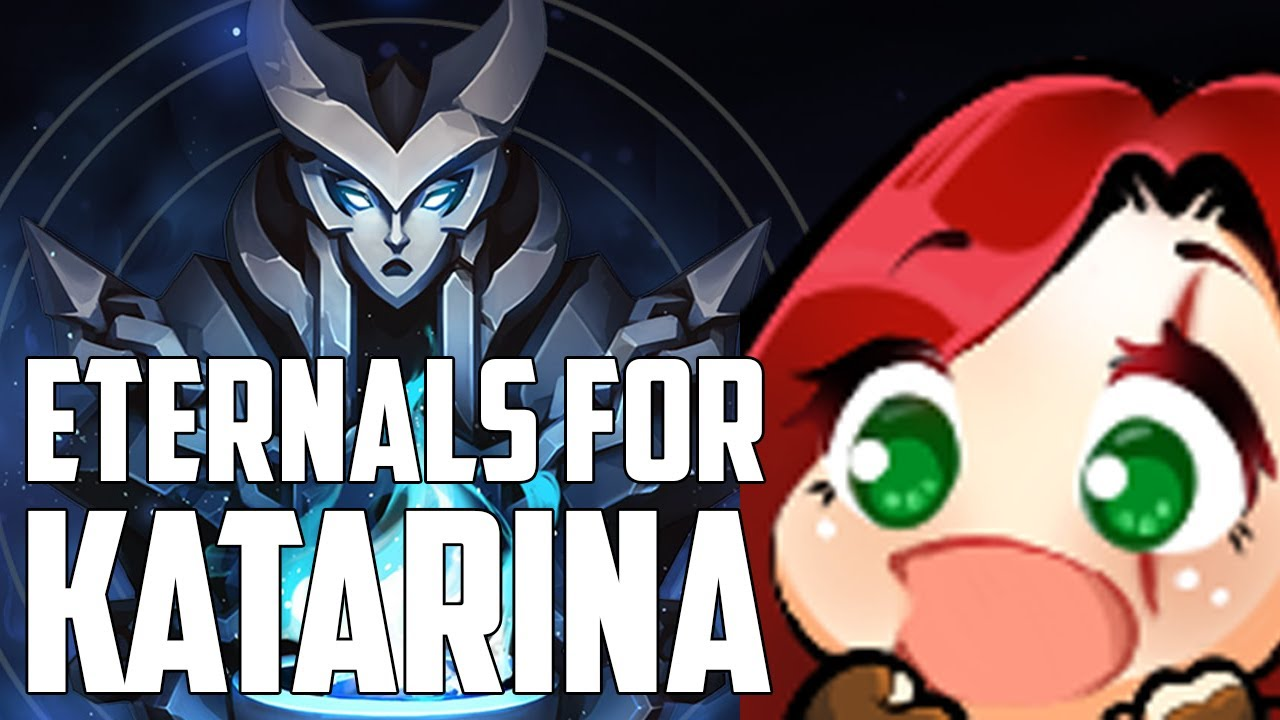 NEW ETERNALS FOR KATARINA IN LEAGUE OF LEGENDS - Season 10 | Katlife thumbnail