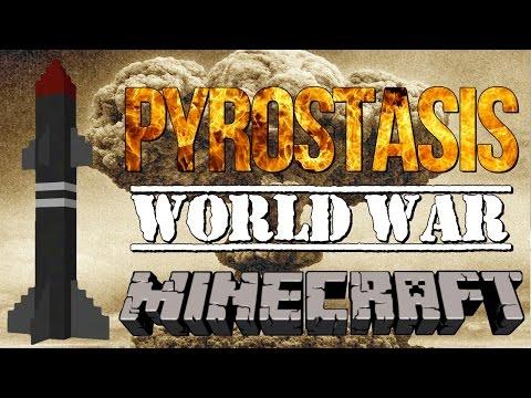 World War Minecraft Voltz! - Nuking JCBRobbie ! Ep 7