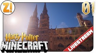 Minecraft Harry Potter: Rollenspiele In Der Harry Potter Welt! 🔴   #01   Let's Play [DEUTSCH]
