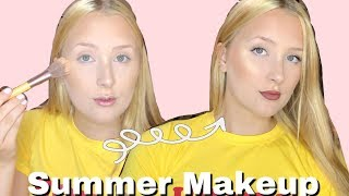 Go To Summer Makeup | Hannah Garske