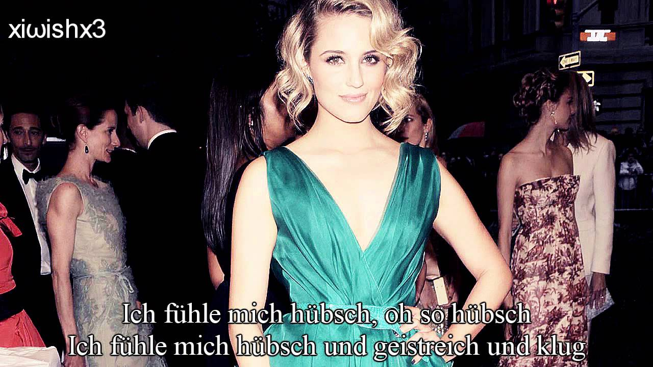 I Feel Pretty Deutsch