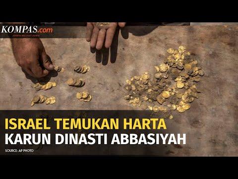 Israel Temukan Harta Karun 425 Koin Emas Berusia 1.200 Tahun