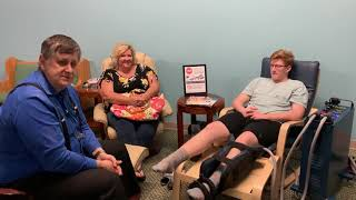 PEMF therapy helps with CRPS