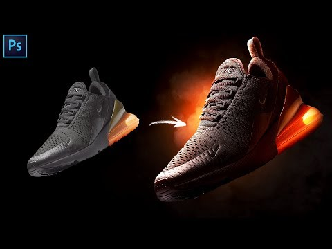 How to Make a Shoe Advertisement! | Lighting Tutorial