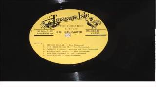 DON DRUMMOND       LET GEORGE DO IT        LP      TREASURE ISLE