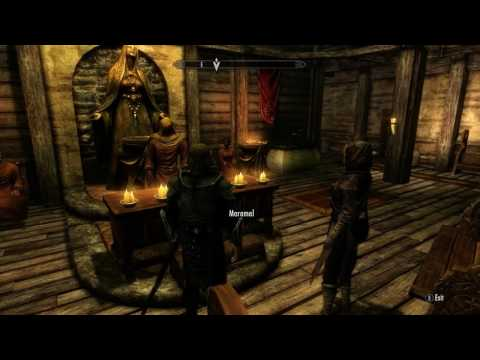 Skyrim Wedding: Brelyna Maryon