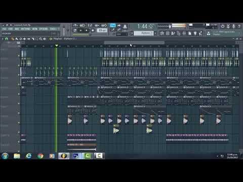 Mura Masa - Love$ick FULL REMAKE en FL Studio