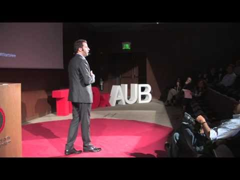 Old school parenting - insights through comedy: Fadi Katergi at TEDxAUB