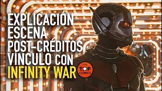 Explicación Escena post-créditos Ant-Man and the Wasp