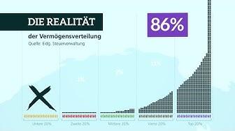 Die Wahrheit über die Vermögensverteilung in der Schweiz