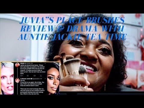 Juvia's Place Drama with Jackie Aina, Jeffree Star & Alissa Ashley.. Brush Review thumbnail