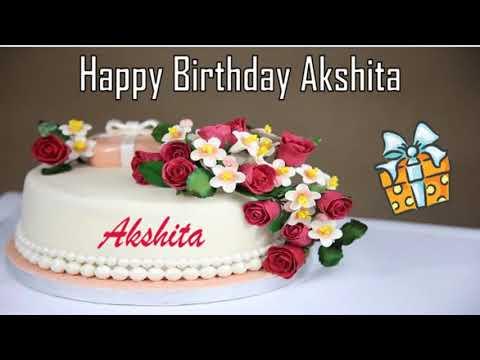 Happy Birthday Akshita Image Wishes✔