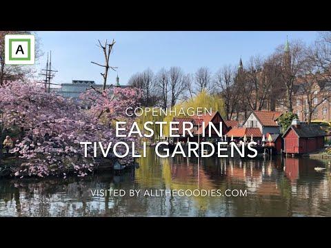 Easter In Tivoli Gardens, Copenhagen - Påske I Tivoli 2019 | Allthegoodies.com