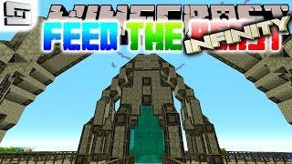 Minecraft FTB Infinity - GATEWAY COMPLETE! ( Hermitcraft Feed The Beast E17 )