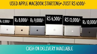 SECOND HAND APPLE MACBOOK 70% OFF | LAPTOP IN CHEAP PRICE