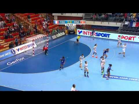 France v Montenegro   Group A Women's World Handball 2013