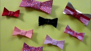 Easy Origami Bow Tie