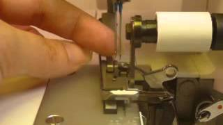 Singer Pro Finish Serger Features:  Part 3