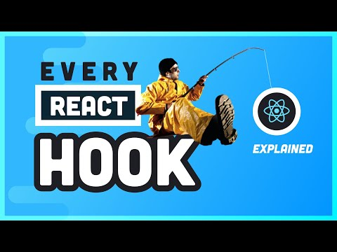 10 React Hooks Explained // Plus Build your own from Scratch