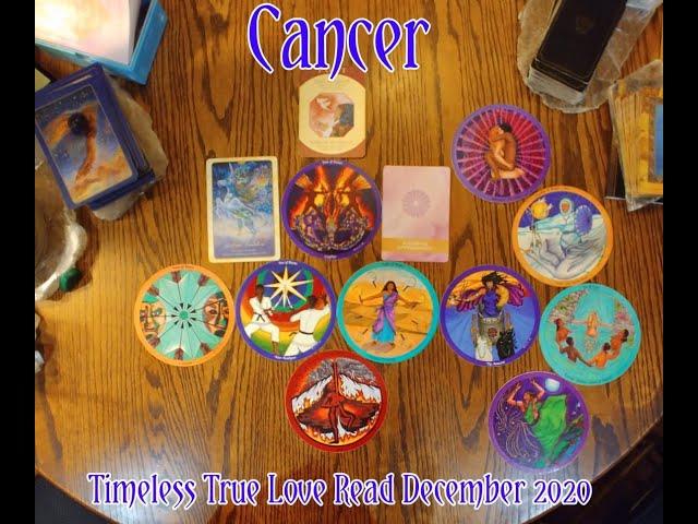 CANCER: TIMELESS TRUE LOVE READ = A POET ALLOWING APPRECIATION = DEC 2020