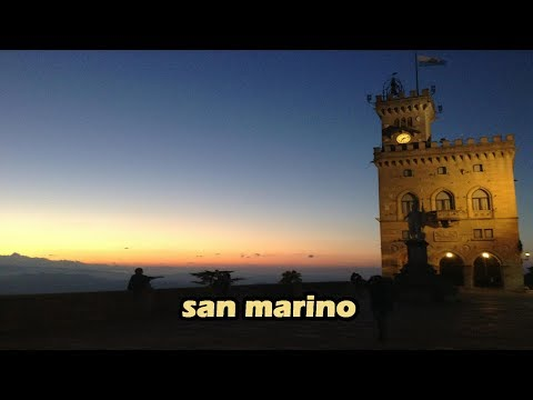 San Marino: A tour by Aidan Hitchcock