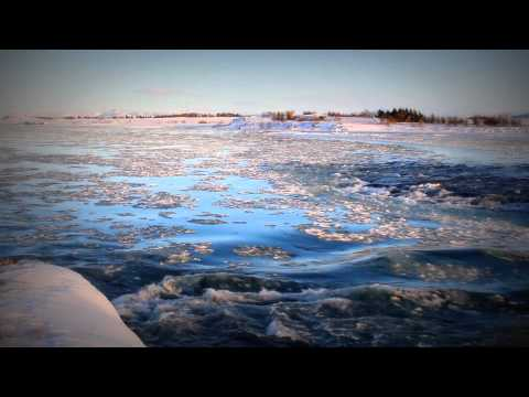 3 Hours of a Blue Ice River