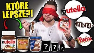 WIELKI TEST NUTELLI I JEJ PODRÓBEK NA ŚLEPO!