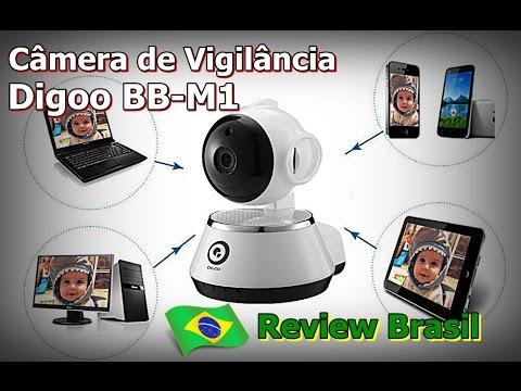 Digoo BB-M1- Câmera de Vigilância Wifi - Câmera de Monitoramento Digoo BB-M1 - FVM