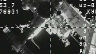 Full ISS Progress 63 P rendezvous and docking coverage MS 02