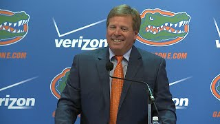 Florida Football: Jim McElwain Preseason Press Conference 8-5-15
