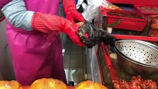 부산 전통시장 부전시장 꽃, 해산물, 채소 ASMR