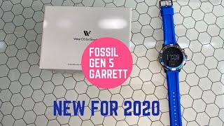 New for 2020 Fossil Gen 5 Garrett ON SALE NOW!