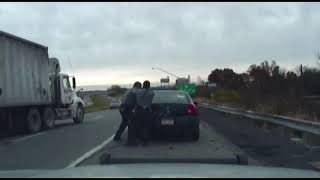 Dashcam Video Of INTENSE Police Shootout  nbc nightly news fox news channel