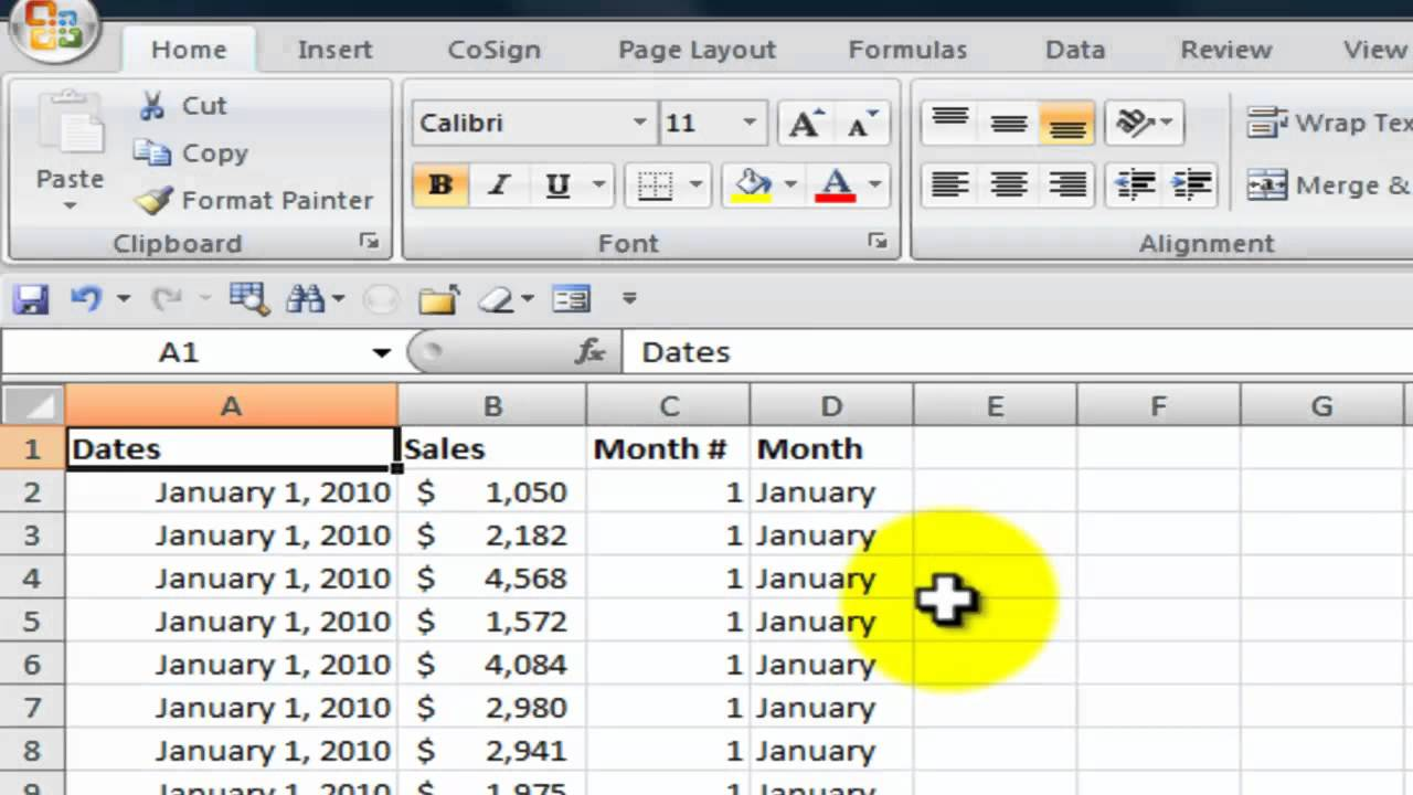 Use the Choose Function in Excel to Quickly Return a Value from a ...