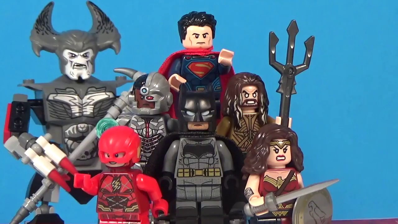 LEGO Justice League Movie Minifigures Collection - YouTube