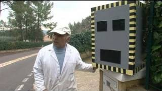 Faux radar contre les chauffards à Fréjus