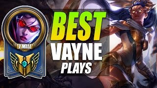 1,000,000+ MASTERY VAYNE MAINS   Montage   League of Legends