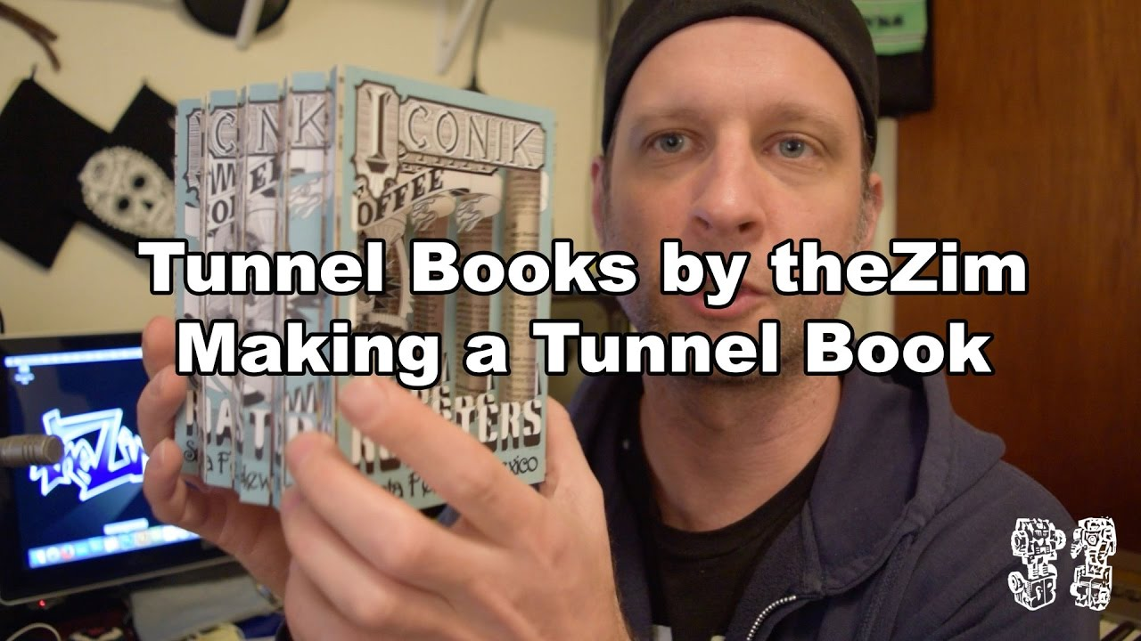 how to making a tunnel book book art tunnel books by thezim bts