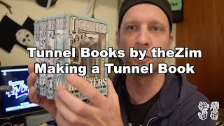 How to: Making a Tunnel book, book art, Tunnel books by theZim BTS