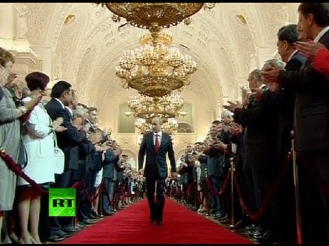 Full Video: Vladimir Putin's presidential inauguration ceremony in Kremlin