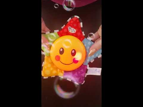 BABY EINSTEIN STAR CRIB MUSICAL TOY!!