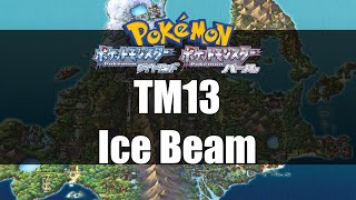 Pokemon Diamond & Pearl - Where to get TM13 Ice Beam