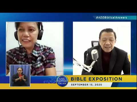 Ang Dating Daan Bible Study - May 6, 2020 from YouTube · Duration:  1 hour 49 minutes 38 seconds