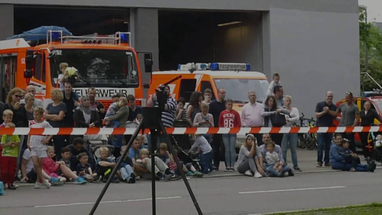 Tag Der Offenen Tür Bei Der Feuerwehr Sindelfingen Youtube