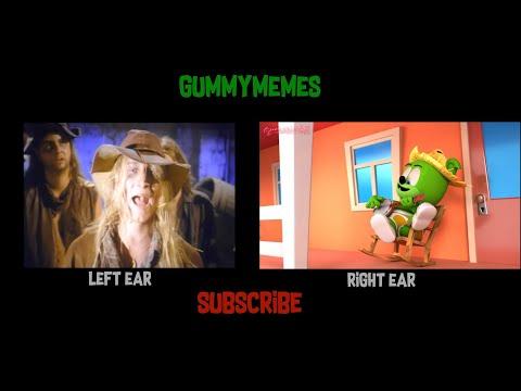 cotton-eye-joe-mashup---rednex-left-ear-+-gummibär-right-ear---the-gummy-bear