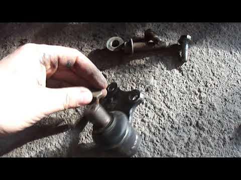 Geely Ck грохот спереди,замена шаровой и рулевого наконечника